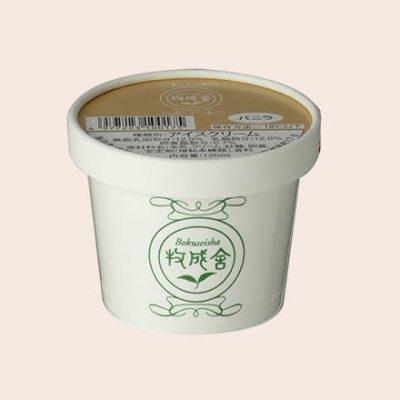 カップアイス バニラの画像