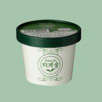 カップアイス 抹茶の画像
