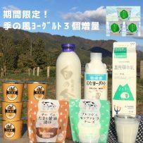 ☆リニューアル記念☆ヨーグルト3個増量中!乳製品セットの画像