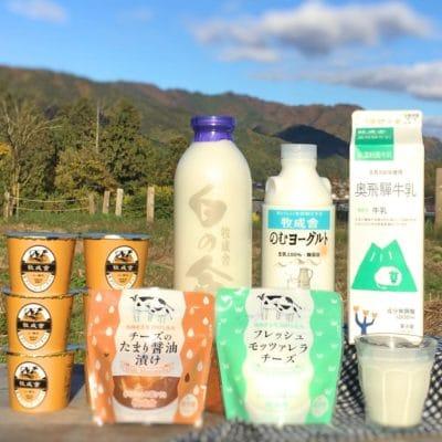 <飛騨市ファンクラブ会員限定価格>乳製品よりどりセットの画像